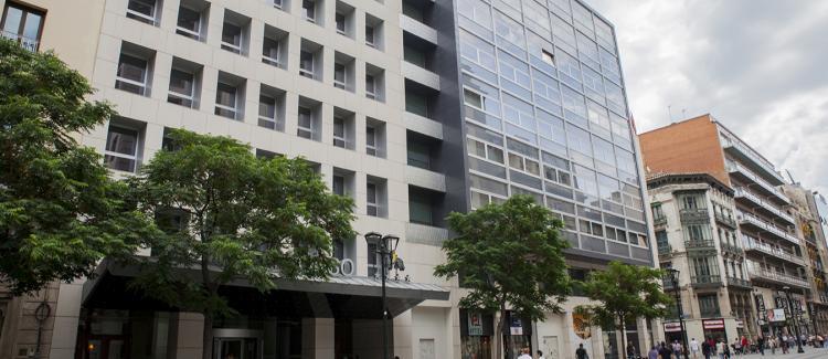 Fachada edificio oficinas Coso 15, Zaragoza
